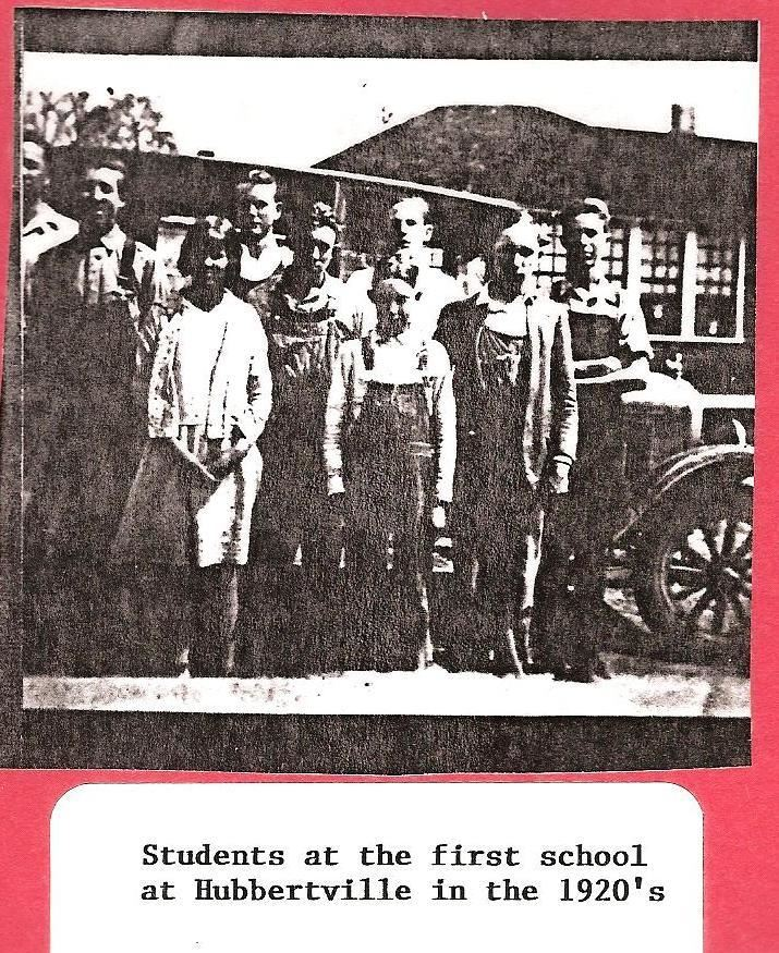 About Us / History of Hubbertville School