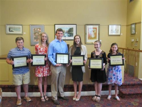 Chamber of Commerce Students of the Year